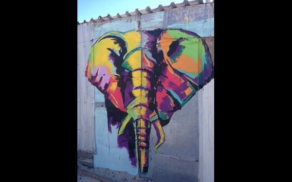 ЮАР. Кайялитша. Стрит-арт