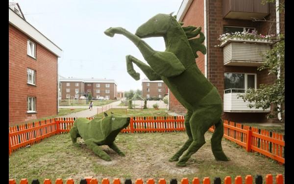 """Композиция """"Волк нападает на лошадь"""""""