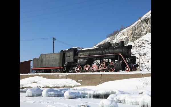Локомотив-паровоз Л-4647 «Лебедь».