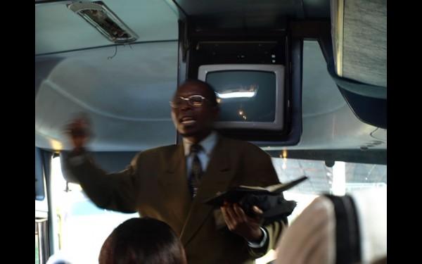 Замбия. Автобус пастора