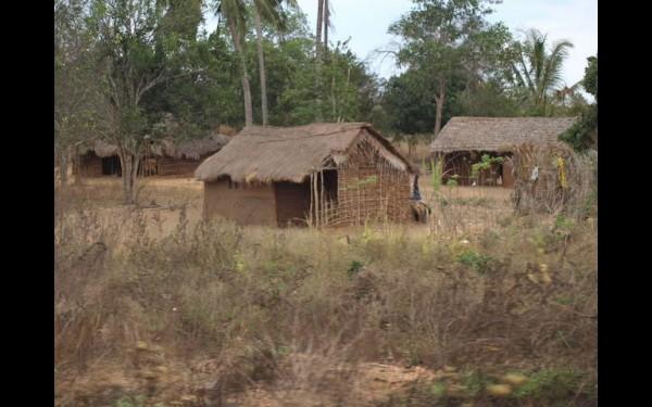 Замбия. Жилища