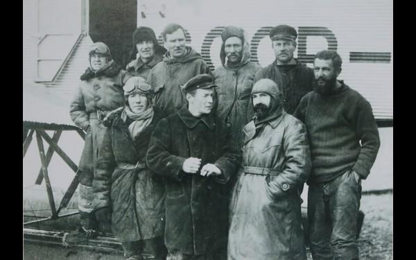 Летчики иркутского гидропорта, 1929 год