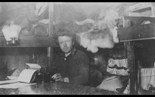Вильялмур Стефанссон — незадачливый канадский владелец острова Врангеля. Фото 1913—1917-х годов.