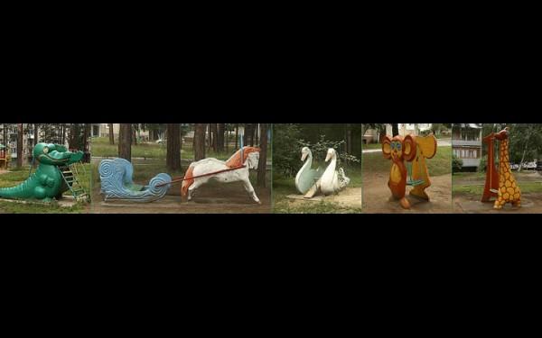 Персонажи саянских двориков