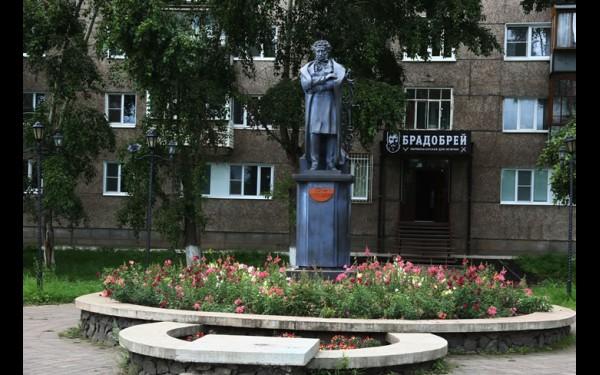 Нашлось место в городе и Александру Пушкину.