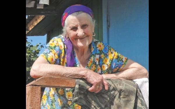 Зоя Григорьевна Зарубина, старожил села Кеуль