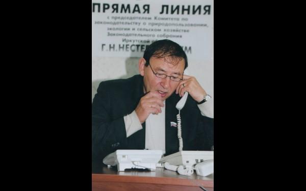 Депутат Законодательного собрания Геннадий Нестерович на прямой линии. Вопросов от избирателей много, но без ответа никто не остается.