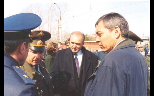 С Владимиром Якубовским, бывшим мэром Иркутска.