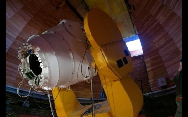 Телескоп АЗТ-33BM «видит» квазары  и дальние галактики
