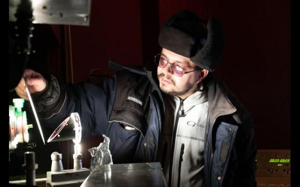 Настроить солнечный телескоп можно вручную  или удалённо, с компьютера