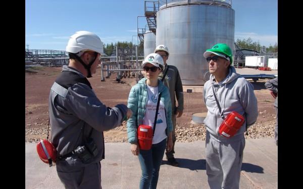 Как добывается нефть и как её тут же очищают от попутного газа: небольшая лекция от специалистов ИНК оказалась интересной