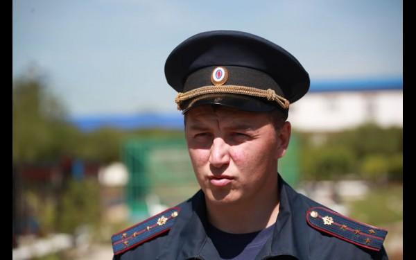 Начальник отдела по воспитательной работе с осужденными ИК-15 капитан внутренней службы Филипп Солодаев