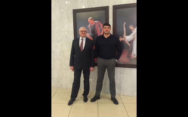 Сергей Брилка с сыном Иваном