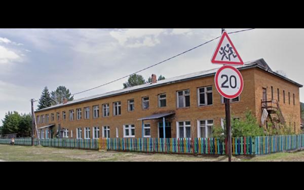 Детский сад в селе солидный. Однако пока эксплуатируется только нижний этаж.