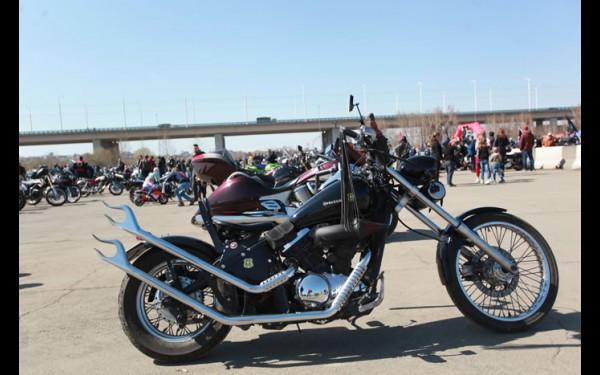 Для настоящего байкера нет ничего важнее мотоцикла.