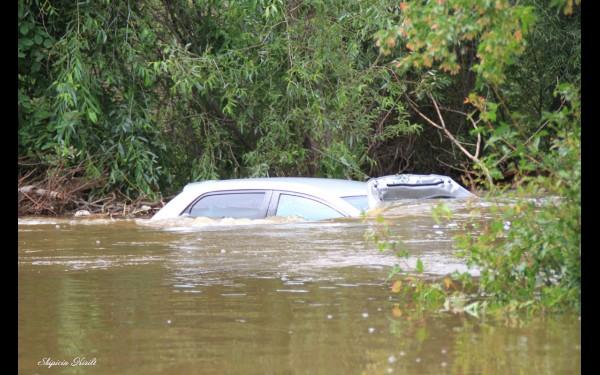 Сначала уровень реки Ушаковки был невысокий. Вдруг вода резко начала подниматься. Люди едва успевали выбегать на улицу, взяв с собой только документы. Не удалось спасти даже автотранспорт, попавший в зону затопления.