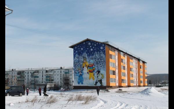 Это все дело рук  художников из Иркутска и Улан-Удэ.