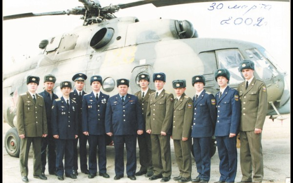 Эскадрилья — сплочённый коллектив, способный выполнить задачу  в любых условиях