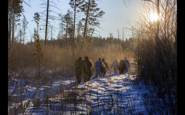 Утро: охотники расходятся по номерам