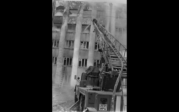 Съемки с места трагедии