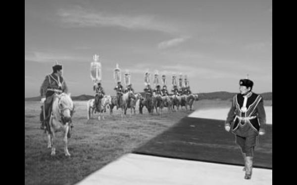 Примерно так могли выглядеть бы шахматы Чингисхана