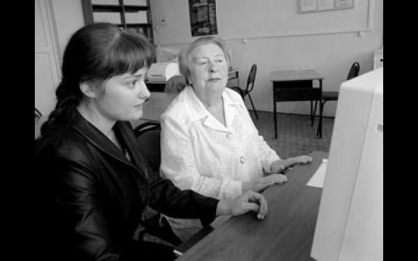 """Вероника Михайловна Рубанова: """"Я думаю, сейчас будет то, что называется """"войти в Интернет"""""""