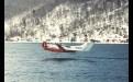 Испытания «Иволги» на Иркутском водохранилище.  Фото 2000 г.