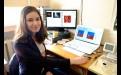 Анастасия Лобкина с прошлого года занимается в лаборатории — в группе IT и программирование, с этой наукой она хочет связать будущую профессию