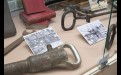 В экспозиции можно увидеть детали, которые производил завод