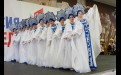 Студия танца «Звёздочка» иркутской школы № 23 исполнила хороводный танец «Гжель»