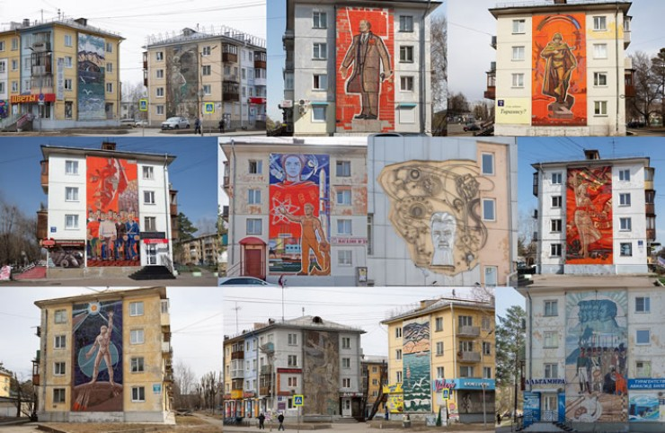 Мозаики города — уникальный памятник соцреализма.