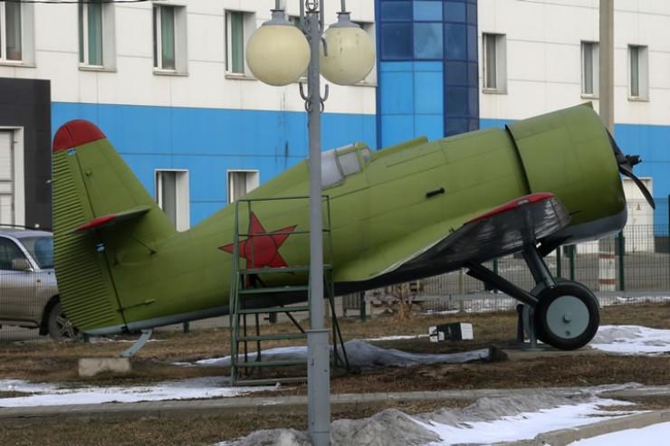 Истребитель И-14 в музее Иркутского авиазавода. 2019 г.