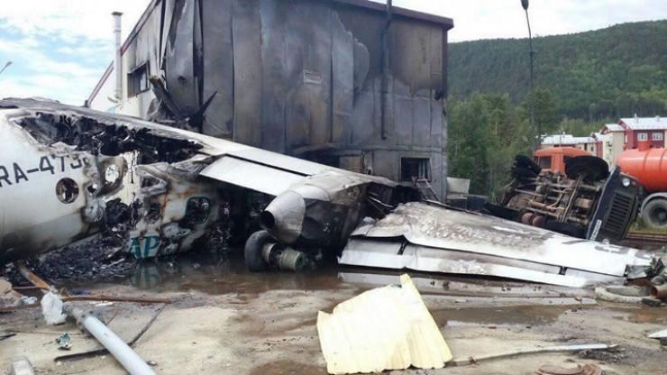 В результате катастрофы в Нижнеангарске в четверг, 27 июня, самолет сгорел почти полностью, от него остался один хвост. Восстановлению Ан-24 не подлежит. Воздушное судно эксплуатировалось с 1978 года. «До капремонта в 1991 году самолет был оборудован комплексом АСЛК-70 (автоматизированная система летного контроля) и работал облетчиком радиотехнических средств посадки (РТС), далее переоборудован в пассажирский вариант»,— сообщает Интерфакс