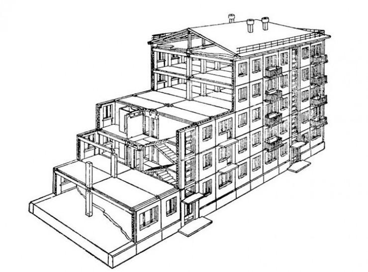 Строительство домов этой серии было сродни сбору конструктора: бетонный каркас, одинаковые стеновые панели, которые могли штамповать домостроительные комбинаты по всей стране. Но основное преимущество — быстрота возведения. К примеру, этот первый трехэтажный дом в Ангарске построили всего за 36 рабочих дней. Плюс низкая стоимость: 115 рублей за один квадратный метр — на 50 рублей ниже других типовых проектов того времени.