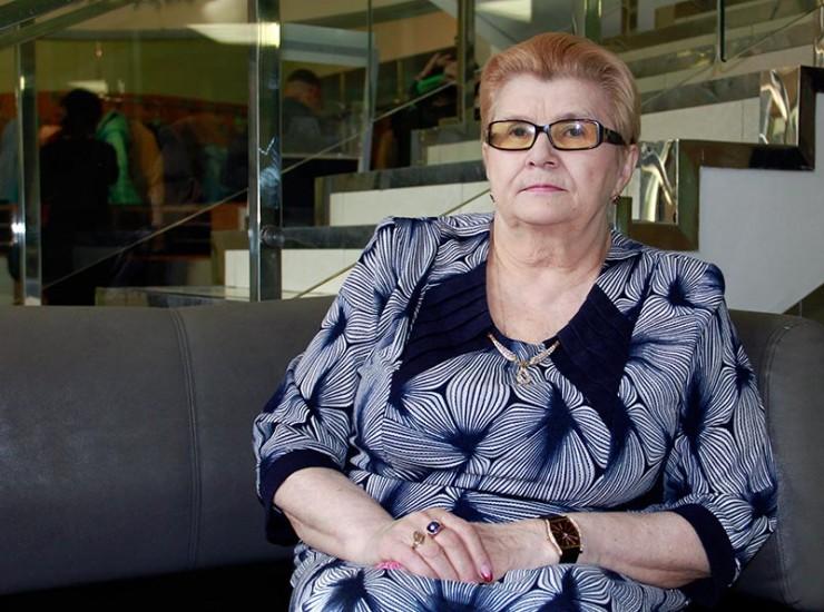 Ольга Тимофеевна Карасева всю свою жизнь помогает людям с ДЦП
