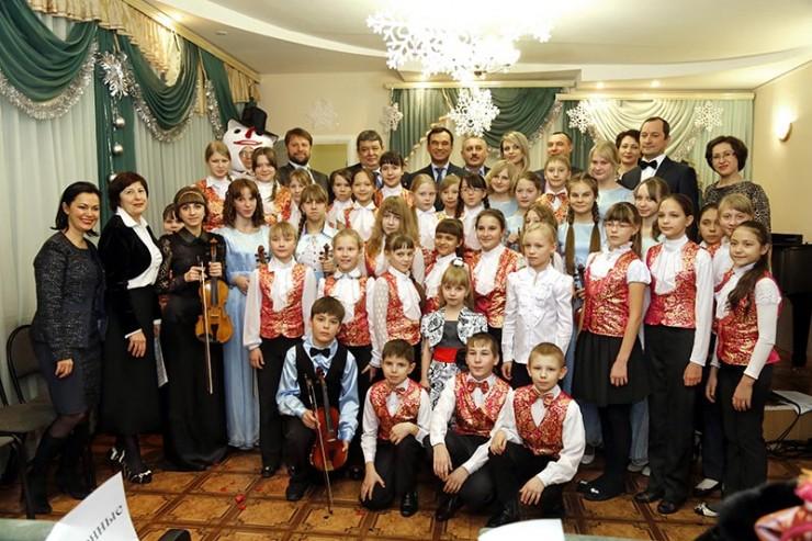Воспитанники музыкальной школы №2 г. Саянска