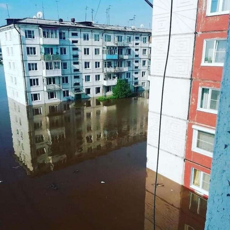 Наводнение в городе Тулуне. Июнь-июль 2019 года