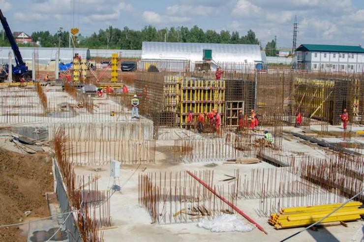 В Иркутске продолжается строительство нового образовательного комплекса «Точка будущего» (прежнее название — «Умная школа»)