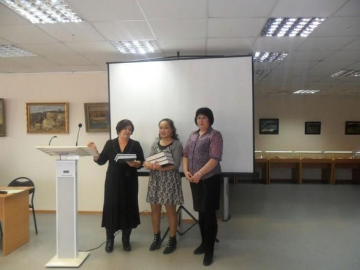 Екатерине Алексеевой вручили диплом первой степени