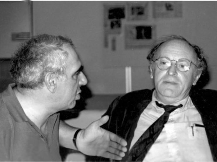 Иосиф Бродский и Евгений Рейн (на фото слева) познакомились в 58-м году: оба жили в Питере, оба болели поэзией. Их дружба продолжалась почти 40 лет. «На мой взгляд, Рейн наиболее значительный поэт нашего поколения, то есть поколения, к которому я принадлежу…» — так писал о Евгении Рейне нобелевский лауреат Иосиф Бродский