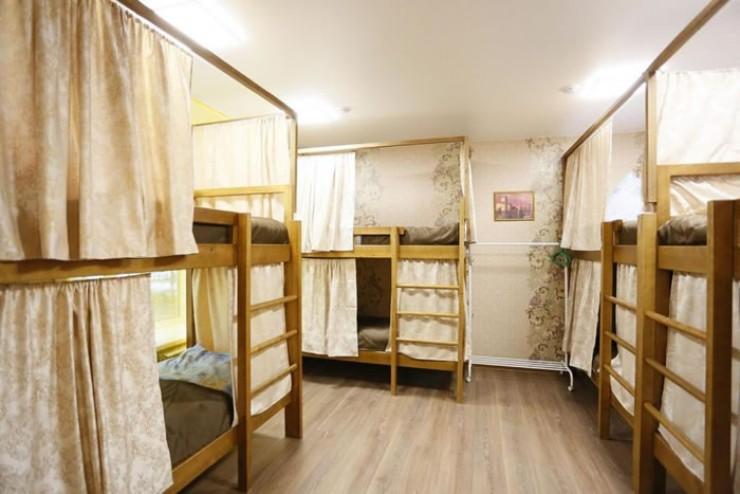 Условия размещения в хостеле