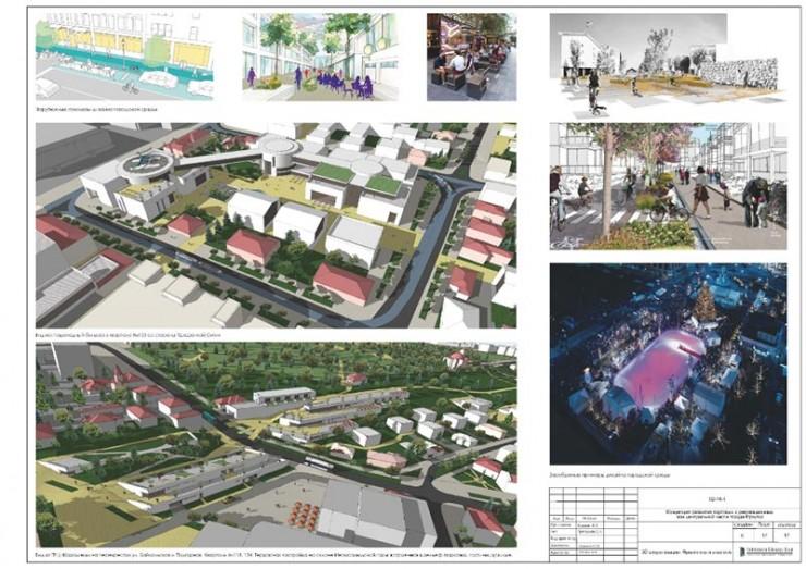 На территории «Иркутских кварталов» планируется комплексная застройка, предусматривающая культурные, деловые, творческие центры, новые жилые комплексы, гостиницы, места для отдыха и игр с детьми, прогулочные зоны и площадки для небольших мероприятий.