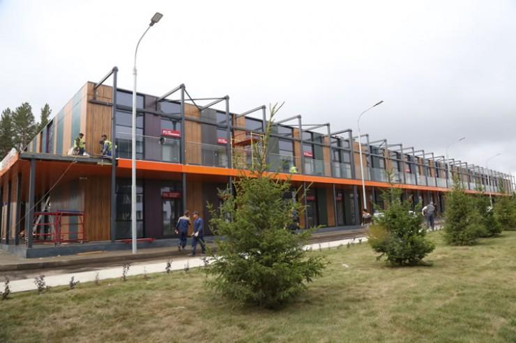 По архитектуре, по срокам строительства, по техническому оснащению проект,  реализованный в Тулуне Сбербанком, не имеет аналогов не только в Иркутской области, но и, возможно, в масштабах всей страны