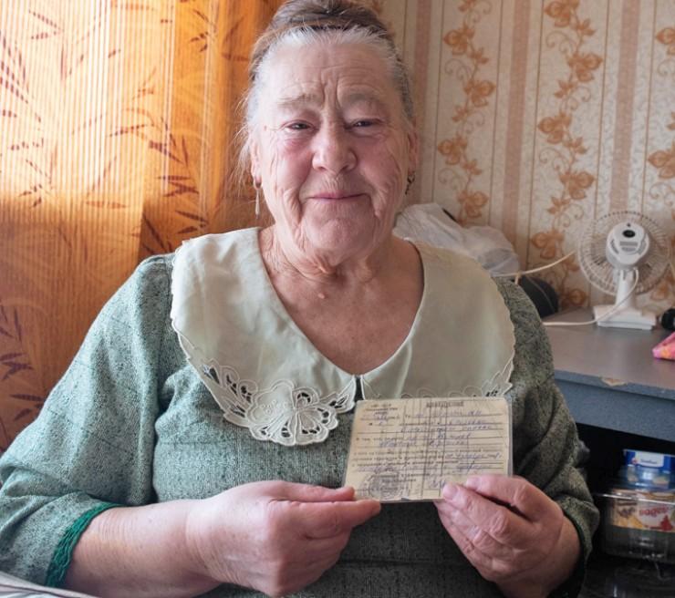 Клавдия Максимовна не теряла надежды найти место захоронения отца