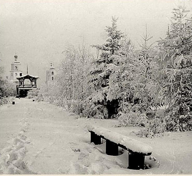 Иркутск, Сукачевский сквер. Фото до 1917 года.