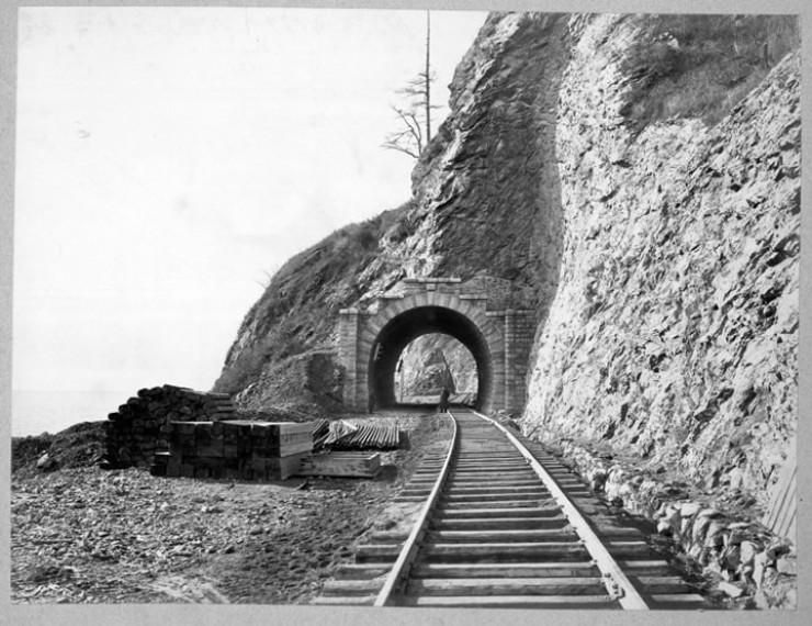КБЖД. Тоннель № 13 на 36-й версте. 1904 год.