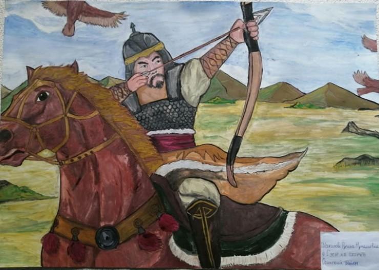 Участники конкурса старались передать мужественный образ легендарного героя — Гэсэра