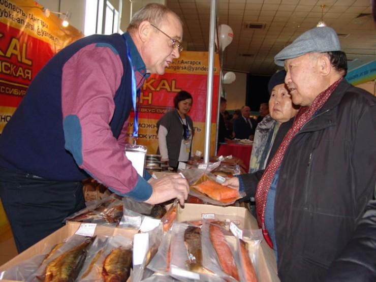 Рыбные деликатесы из Ангарска пользовались  на выставке особой популярностью