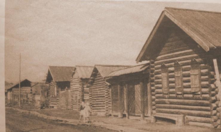 Деревня Старое Седаново, середина XX века