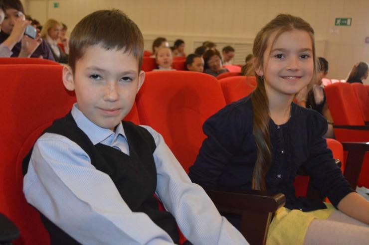 Участники из Ольхонского района Вадим Соловецкий и Юлия Иванова